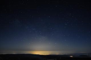 Fulgor e as estrelas que non se ven pola súa culpa.