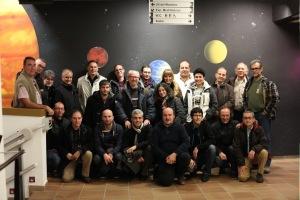 Foto dos asistentes á 1ª reunión da REECL