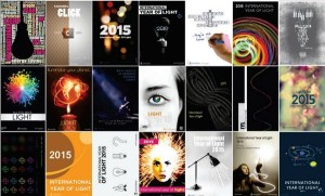 Diferentes pósteres do AIL2015: http://www.magic-of-light.org/iyl2015/download.php#